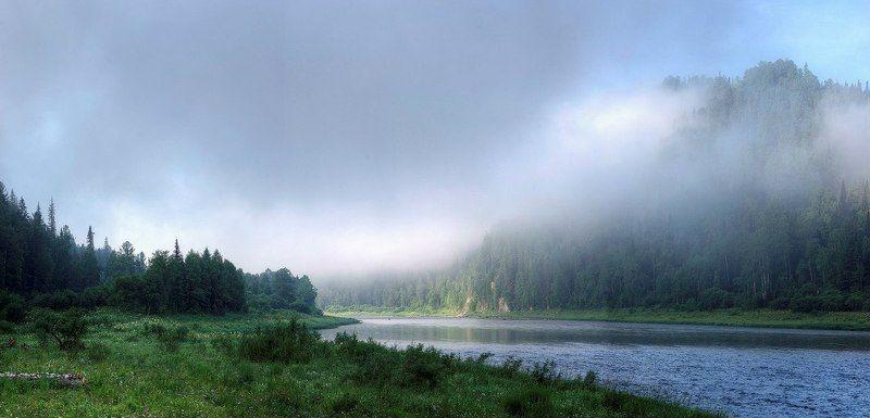 Сибирь, Утро Когда подкралось утро...photo preview