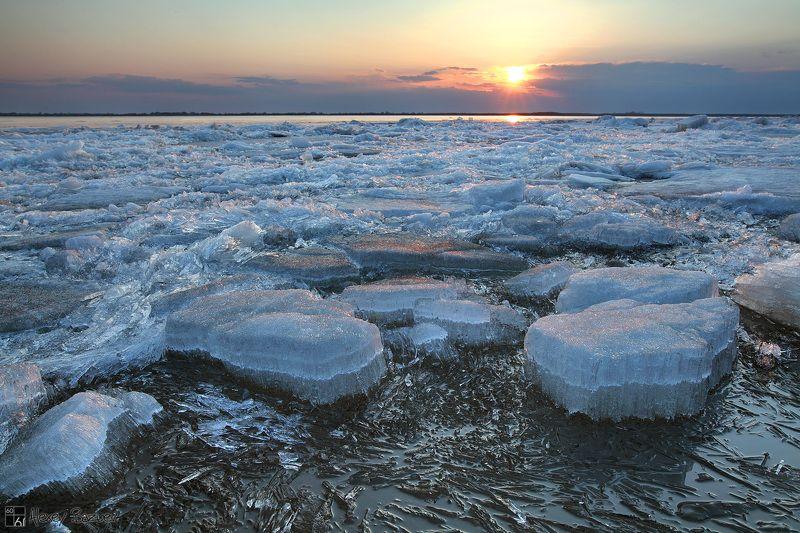 амур, ледоход, весна, лёд Лёд и пламень Амураphoto preview