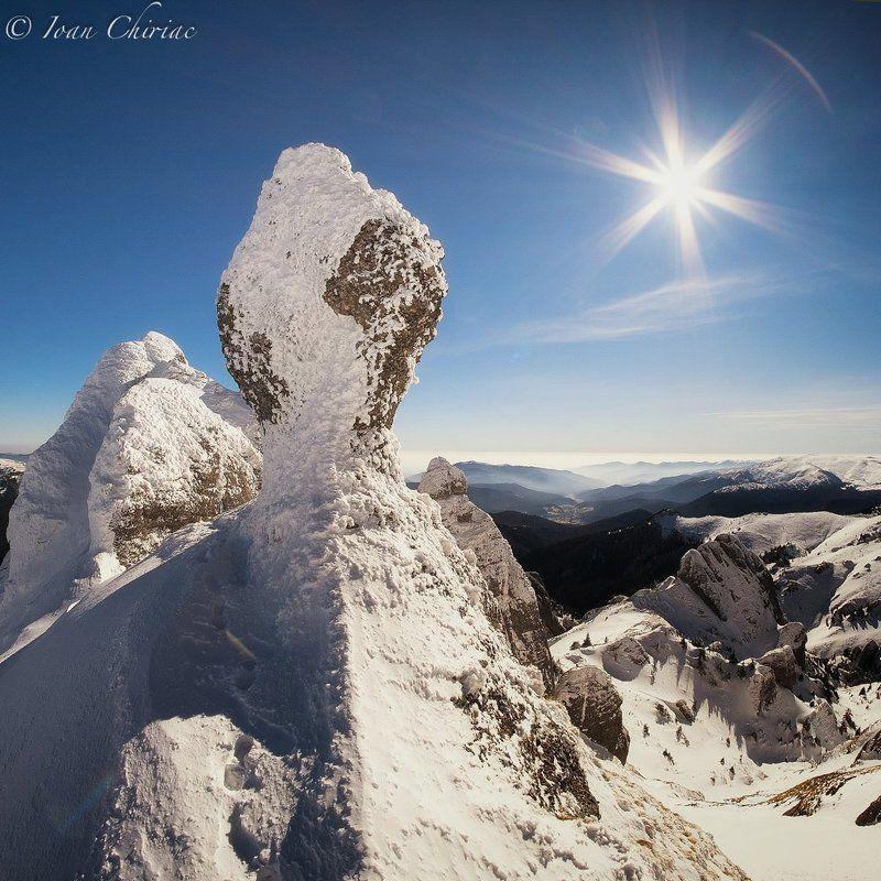 ciucas, cliff, mountain, romania, snow, transilvania Winter in Ciucasphoto preview