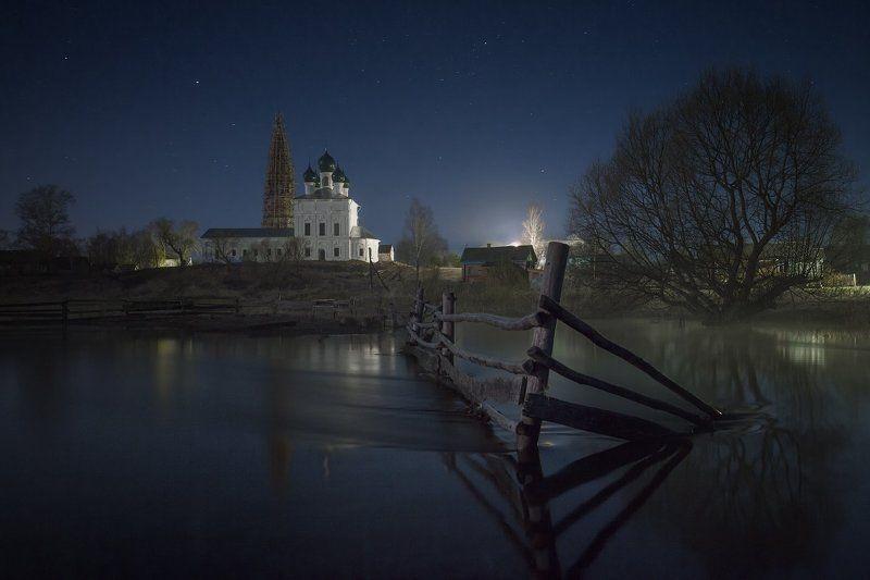 Осенево, Пейзаж, Река Ночное весеннее Осеневоphoto preview