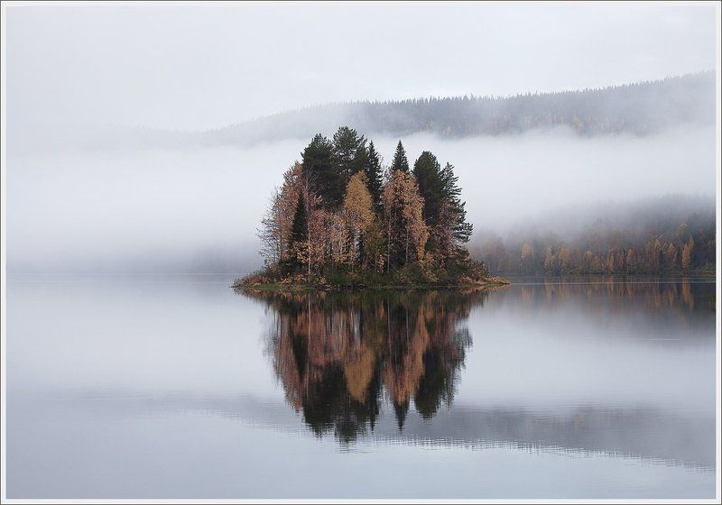 Осенняя воздушность Паанаярви.photo preview