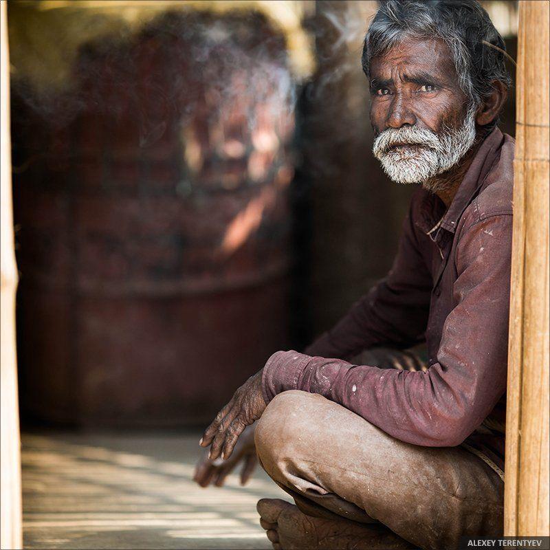 Индия, люди, портет В гостях у Садху...photo preview