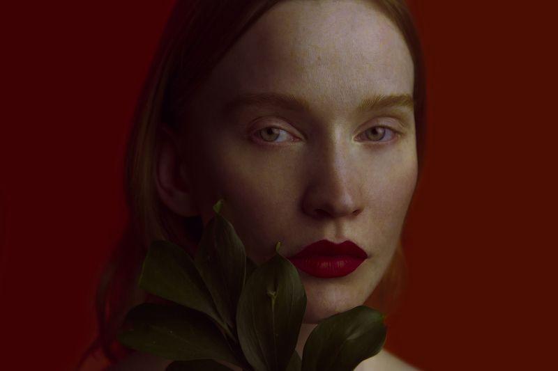 Color, Ginger, Green, Plants, Red, Red hair, Красный, Растение, Рыжая, Цвет I am NATUREphoto preview
