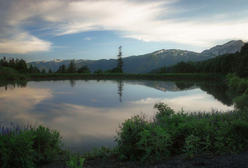 Закат, Лагонаки, Озеро ***photo preview