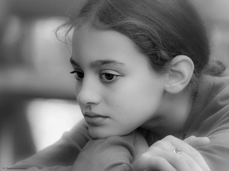 дети, детский портрет, монохром, эмоции Детиphoto preview