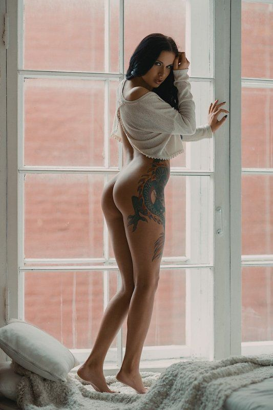 girl, nude, erotic Lina`s morningphoto preview
