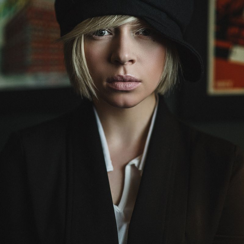 модель портрет цвет глаза девушка Ксенияphoto preview