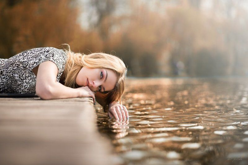 Blonde, Portrait, Summer, Water Dreamingphoto preview