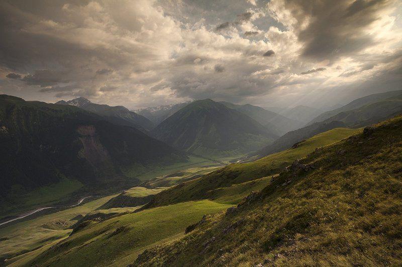 казахстан, природа, горы Верховья Чиликаphoto preview