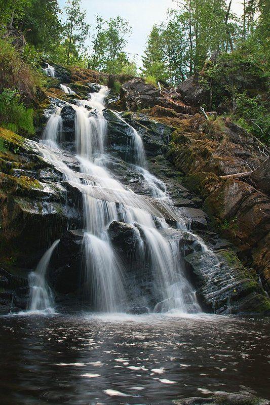 Юканкоски, водопад, Карелия Юканкоскиphoto preview