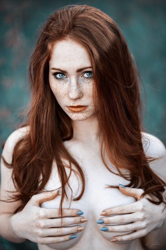 Portrait, Red hair, Sensuality Marlenaphoto preview