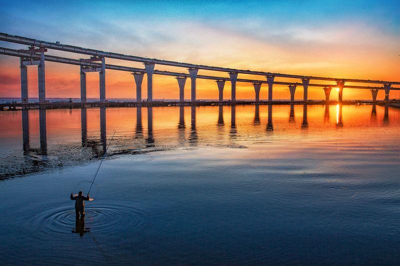 зсд закат нева облака солнце Fishermanphoto preview