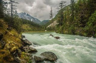 бурные будни бурлящей реки