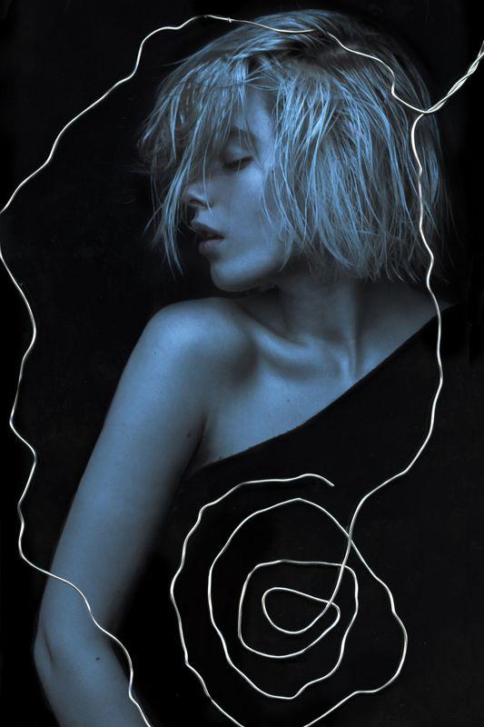 Analog, Blue, Color, Concept, Conceptual INVISIBLEphoto preview