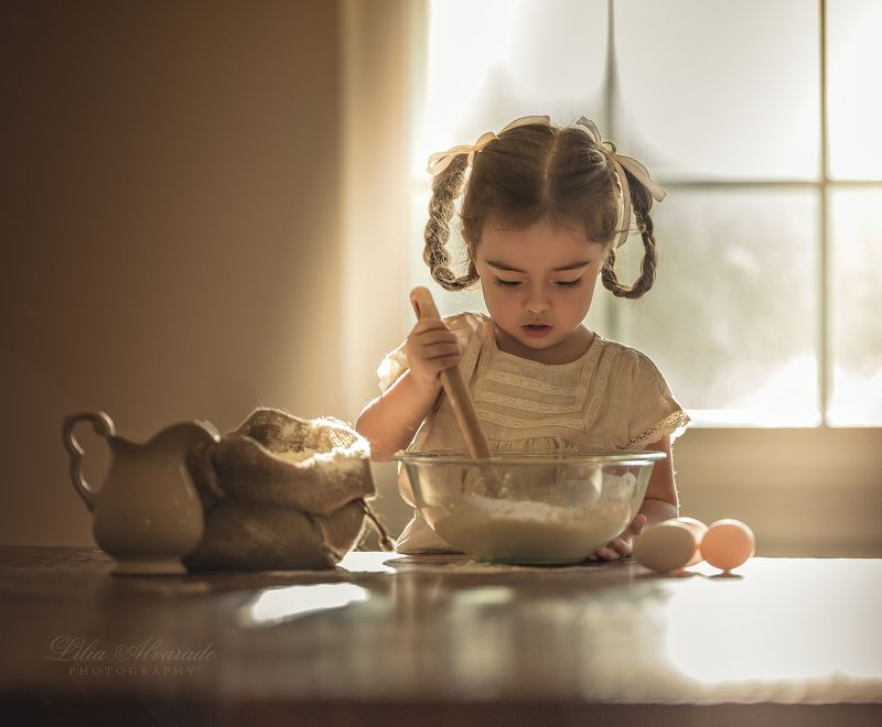 baking,kitchen,children,candid Cookies Make Everything Better...photo preview