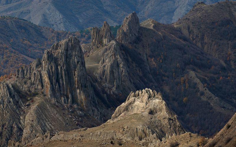Крым,Междуречье, горы, осень Cкалы Междуречьяphoto preview