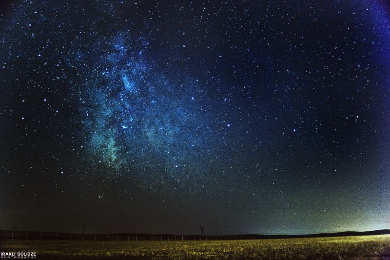 milky, way;, night;, stars;, landscape;, outdoor;, beautiful;, dreaming;, alone;, sky; Fairy tailphoto preview