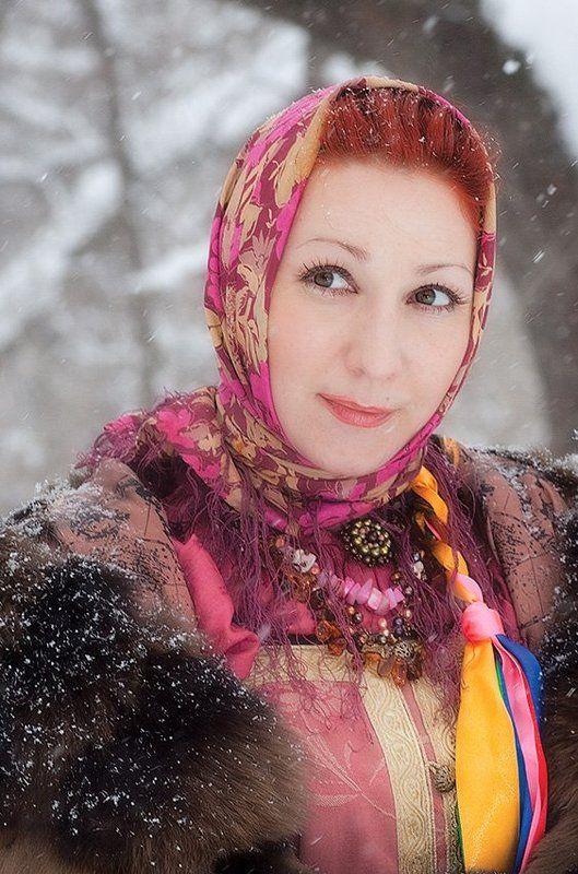 таня, русская, краса, мороз, зима, сугробы, снег Лесная сказкаphoto preview