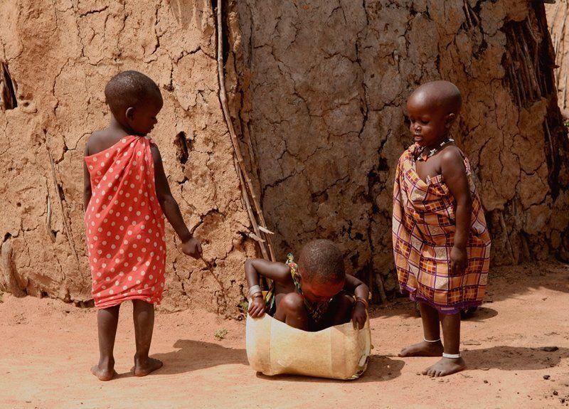 кения,дети. Кения. Дети племени Масаи.photo preview