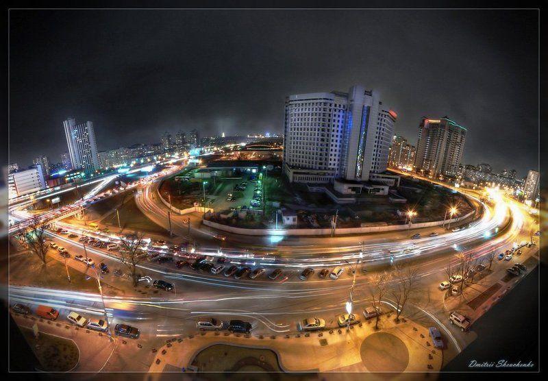 город, ночь, огни ***photo preview