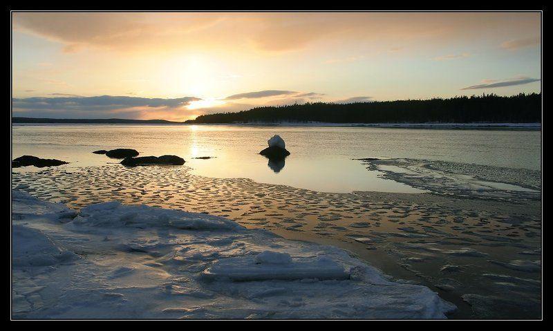 Один из северных закатовphoto preview