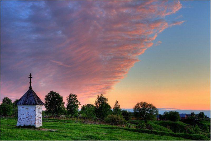 закат,пейзаж ***photo preview