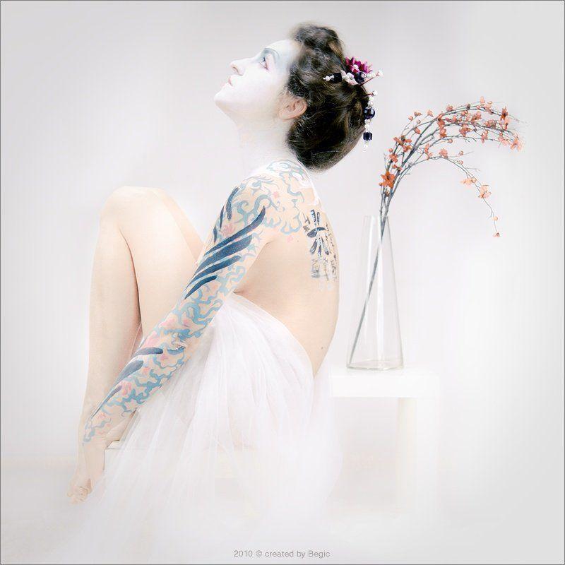 begic, цвет сакуры, япония, гейша, японка, весна. Цвет сакурыphoto preview