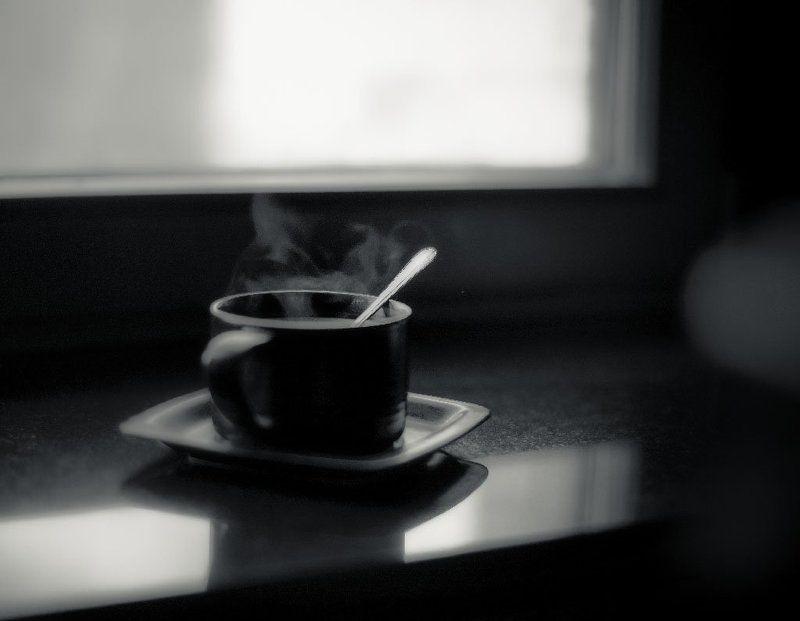 Утро, дом, окно, кофеphoto preview