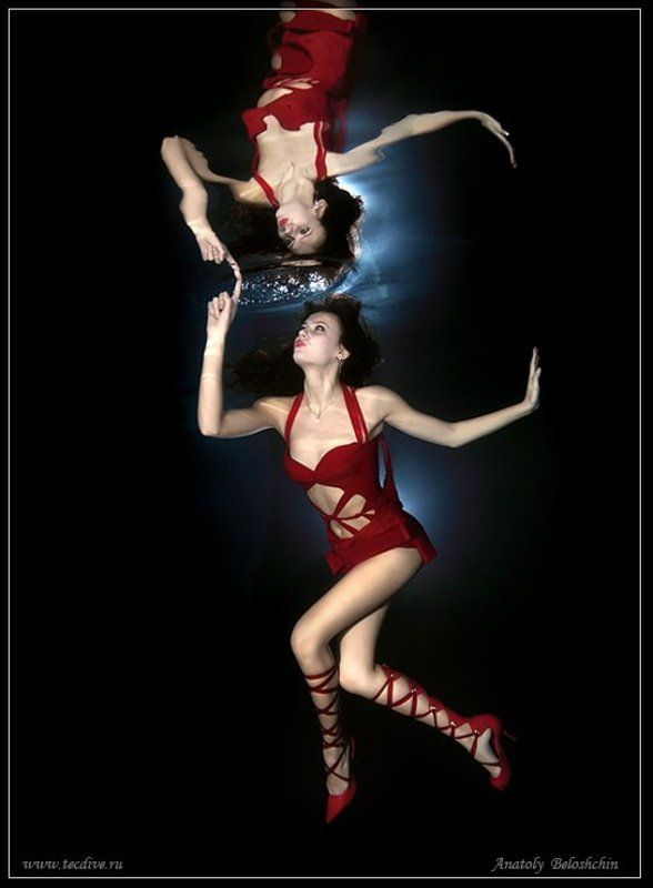anatoly, beloshchin, underwater, nude,  fashion, анатолий, белощин, seacam Зазеркалье ( подводное фото )photo preview