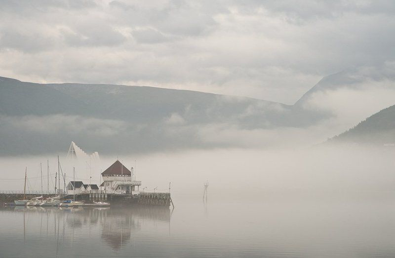 Бухта в тумане.photo preview