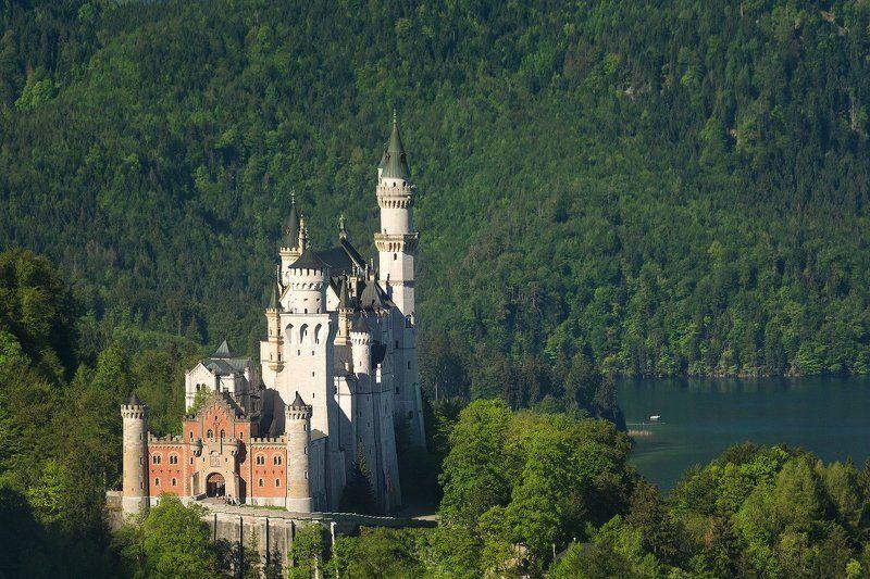 Нойшваштайн, замок, Германия, Neuschwanstein, Castle Neuschwanstein Castle / Дворец Нойшваштайнphoto preview