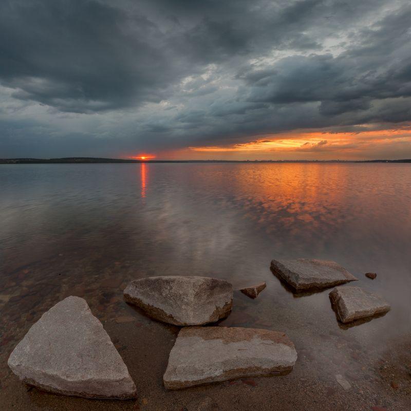 челябинск, закат, шершни, камни, облака, t_berg Успеть на закатphoto preview