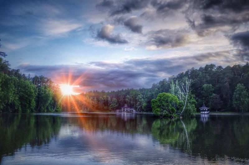 Вечернее солнцеphoto preview