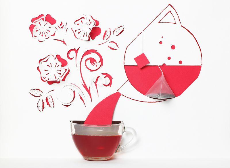 Чай с шиповникомphoto preview
