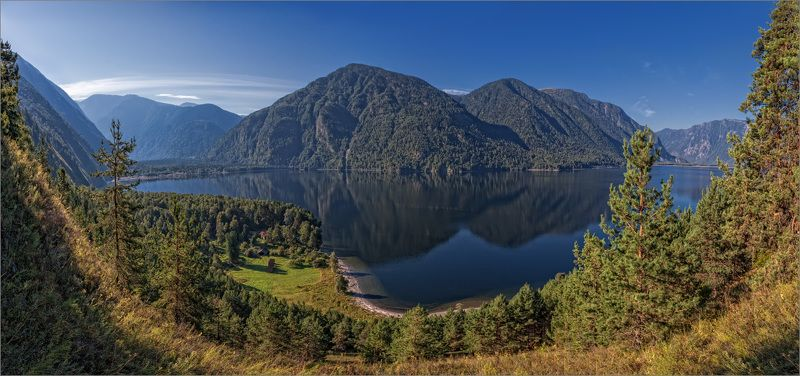 Altai. Teletskoye Lake. Cordon Chiri.photo preview