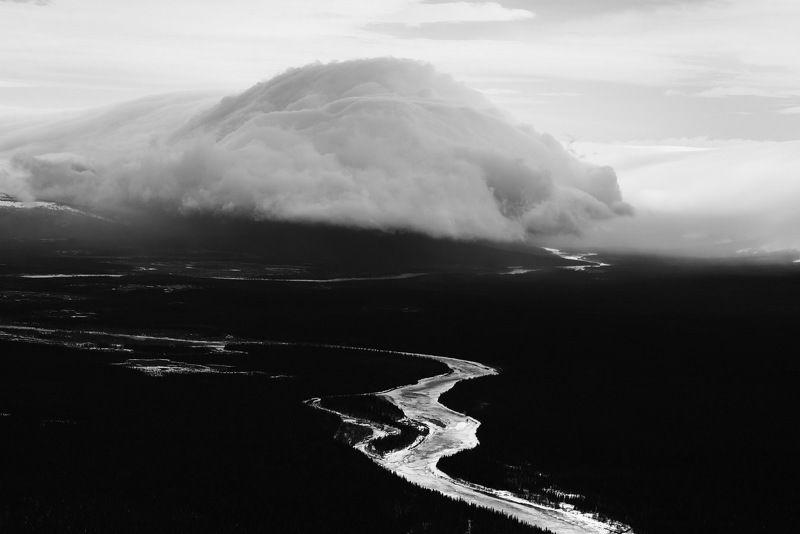 коми, урал, горы, пейзаж, чб Ветряное гнездоphoto preview