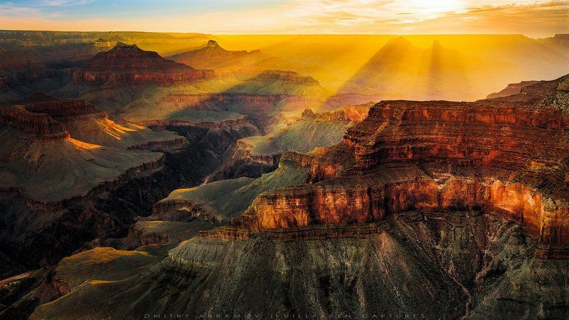Рассвет над Гранд Каньономphoto preview