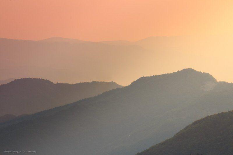 карпаты, горы, вечер, свет,  Игра тенейphoto preview