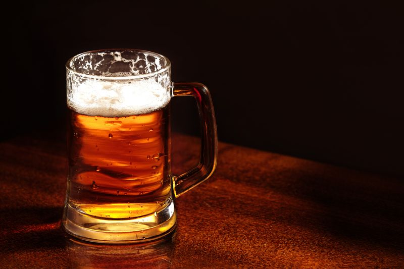 drinks, alcohol, mug, beer, table, glass, frothy, material, pint, wood, lager, cold, yellow, gold, establishment, dark, bubble, food, liquid, horizontal, still, color, close-up, object, backgrounds, freshness, single, space, refreshment, pouring, full, fo Mug of beerphoto preview