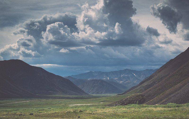 Арктика, Север, Чукотка, лето Пока еще солнечноphoto preview
