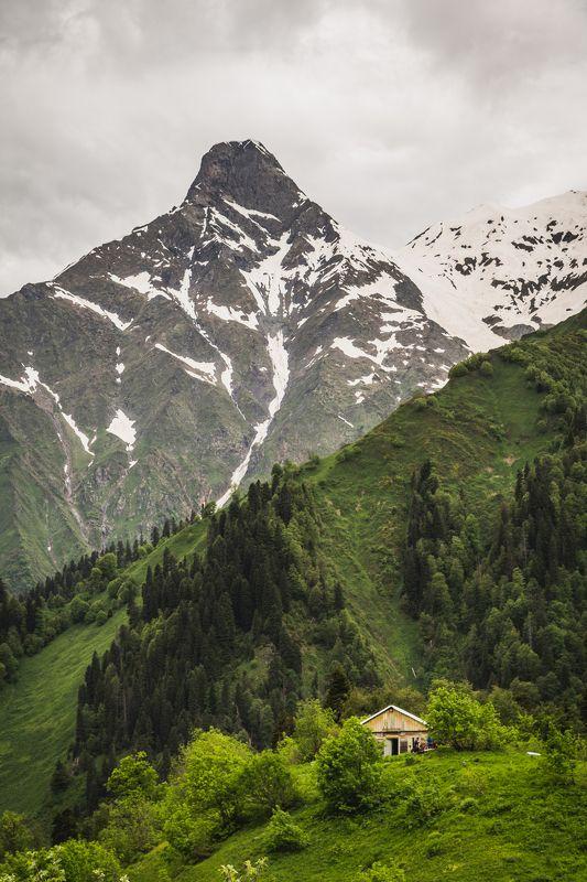 Один в горахphoto preview