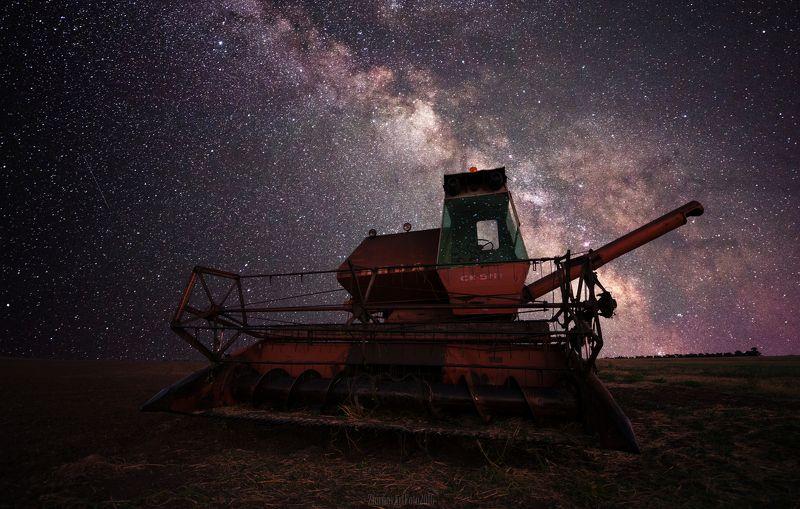 астрофотография, галактика, забытый, звезды, млечный путь Нива Ск5 М-1photo preview
