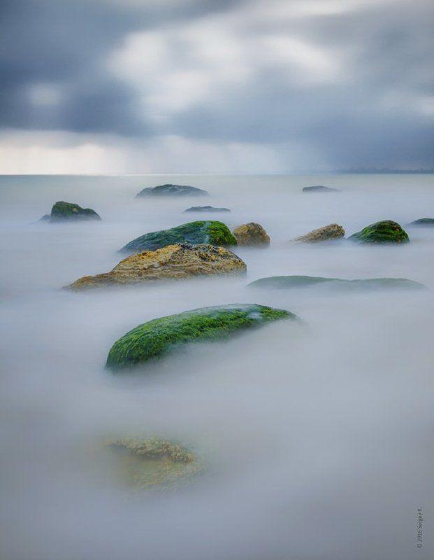 Одесса, Фонтанка, Море, Черное море, гроза Парящие камниphoto preview