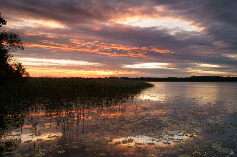 Озеро, Череменец Череменецкий рассветphoto preview