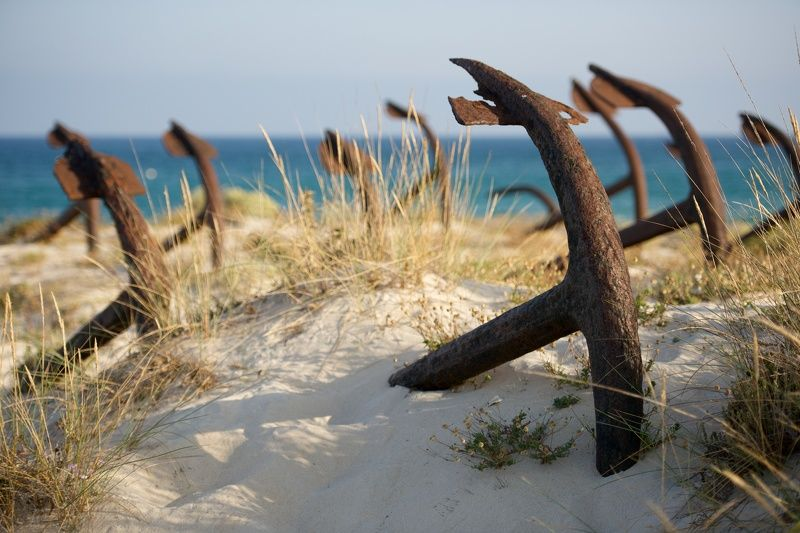 пейзаж, якорь, океан, берег, песок, море, дюны, португалия, путешествия, никон, nikon, travel, beach, anchor Кладбище якорей / anchors graveyardphoto preview