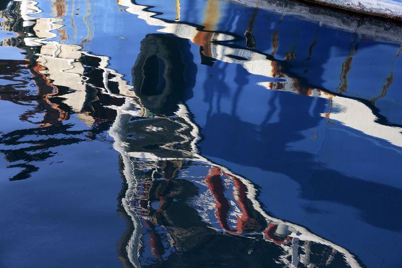 Израиль, Тель Авив, Яффо, порт, старый порт, отражения Старый портphoto preview