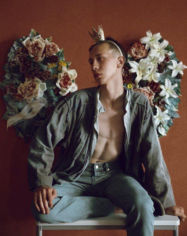 цветы, принц, портрет, Эстония Мертвый принцphoto preview