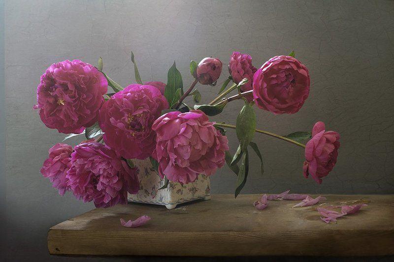 розовый букетphoto preview