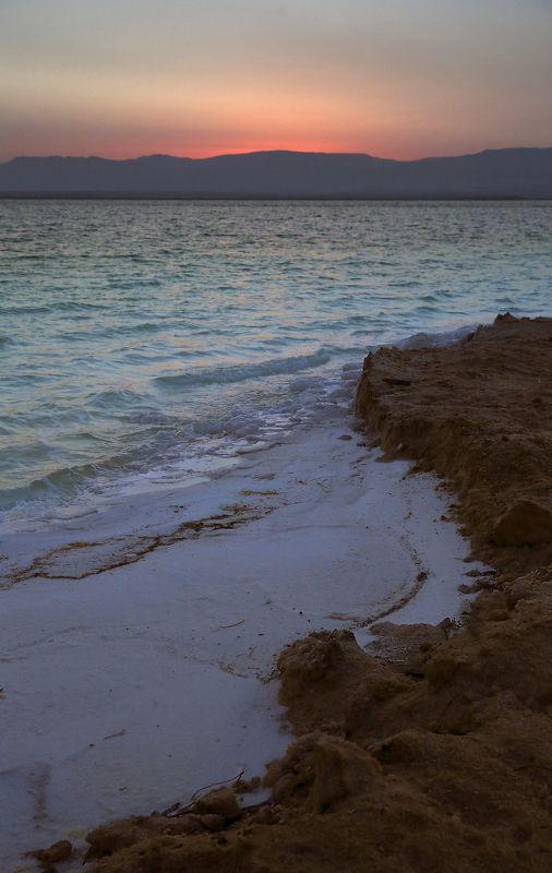Израиль, мертвое море, рассвет Мертвое море.Утро.photo preview
