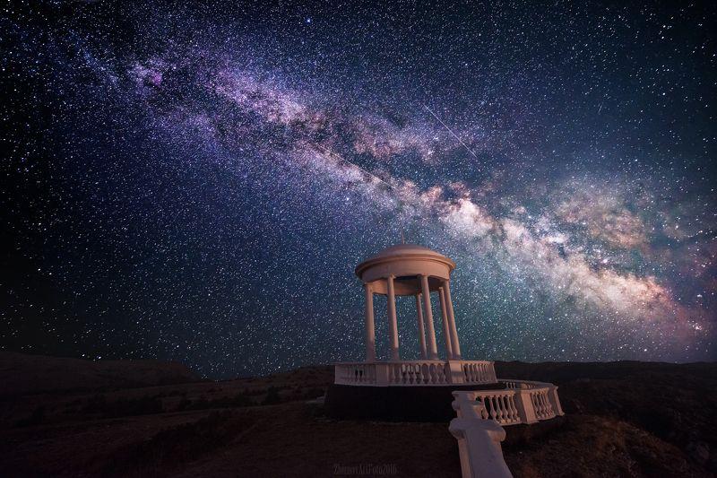 Астрофотография, Галактика, Забытый, Звезды, Млечный путь Звездопад Воспоминаний...photo preview